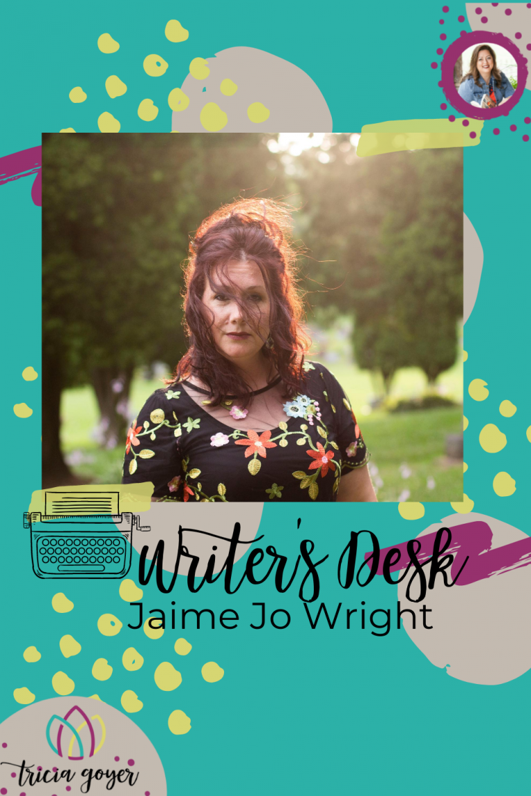This week on Writer's Desk Jaime Jo Wright is sharing about her new release!