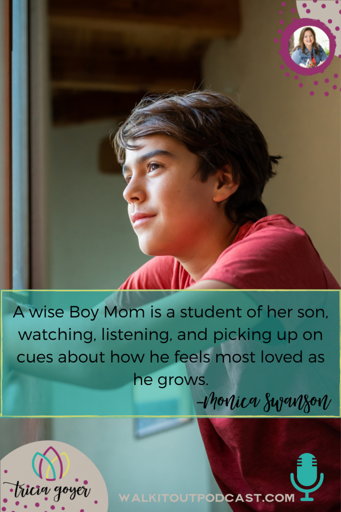 WIO #135: Boy Mom with Monica Swanson. We're chatting all about raising boys! You're going to love this episode.