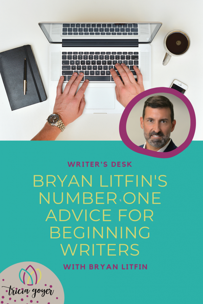 This week on Writer's Desk Bryan Litfin shares a little about his new release!