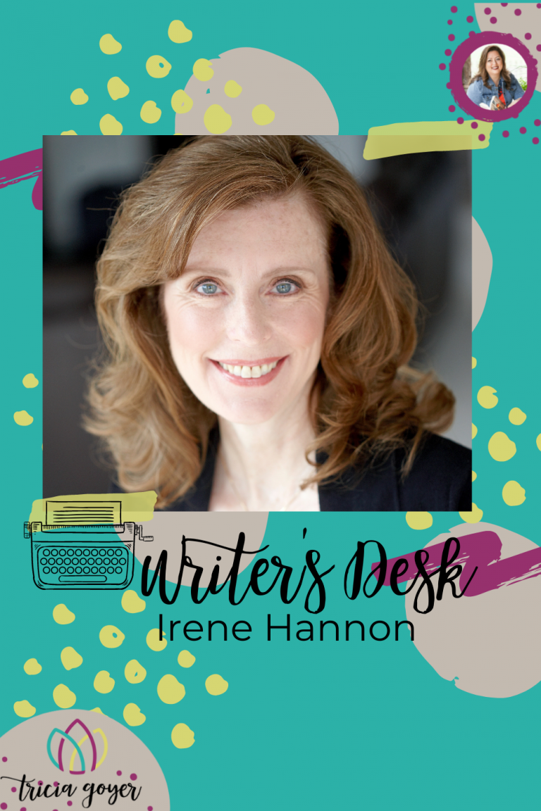 On this week's Writer's Desk, Irene Hannon shares about her new book, Point of Danger, and is giving a copy away! Enjoy!