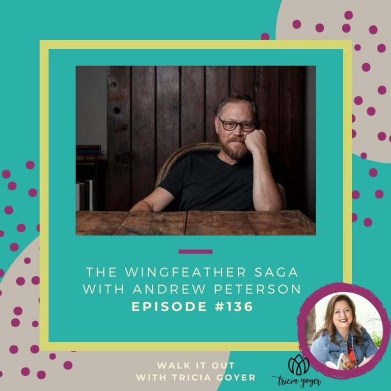 WIO #136 I'm so excited to chat with author Andrew Peterson this week about his music, the Wingfeather Saga, the Rabbit Room and more! Enjoy!