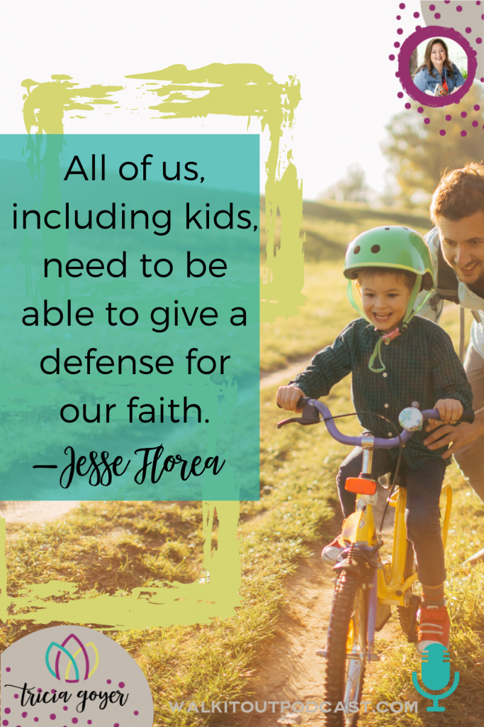 WIO #146: Defend Your Faith with Jesse Florea Apologetics doesn't have to be a scary word. If you have kids, you're going to love this episode!