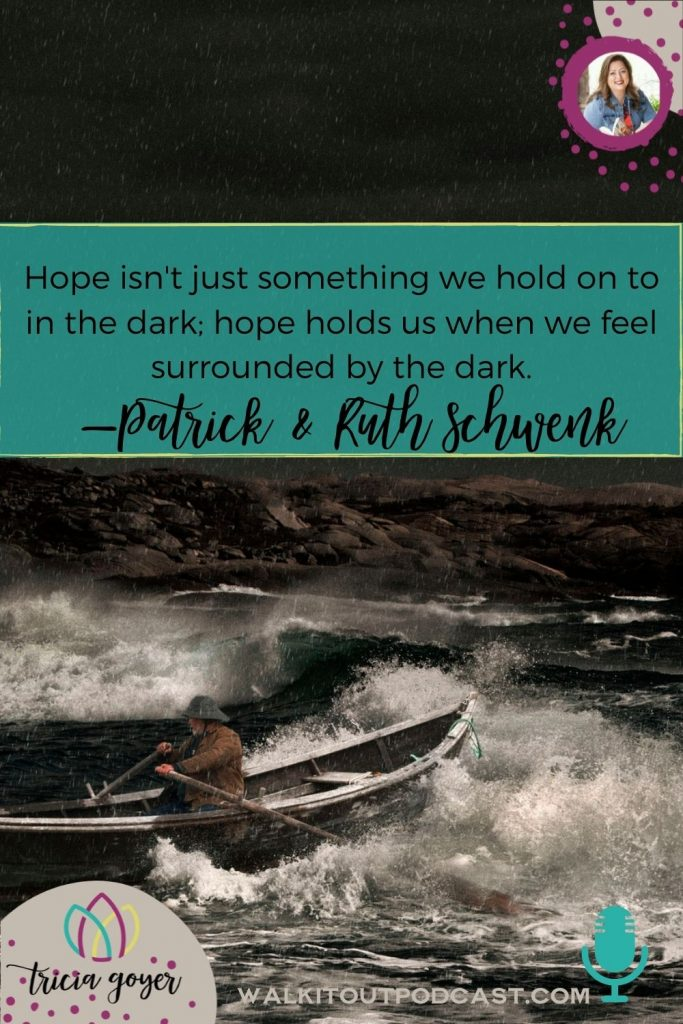 WIO 140 In a Boat in the Middle of a Lake with Patrick and Ruth Schwenk. We are chatting about marriage during hard times. Enjoy!