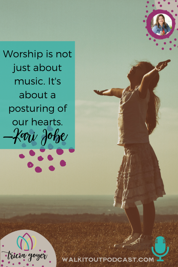 WIO #147: Worship as Soul Care with Kari Jobe. Kari and I talk all things worship, Christmas, and soul care. I know you're going to enjoy!