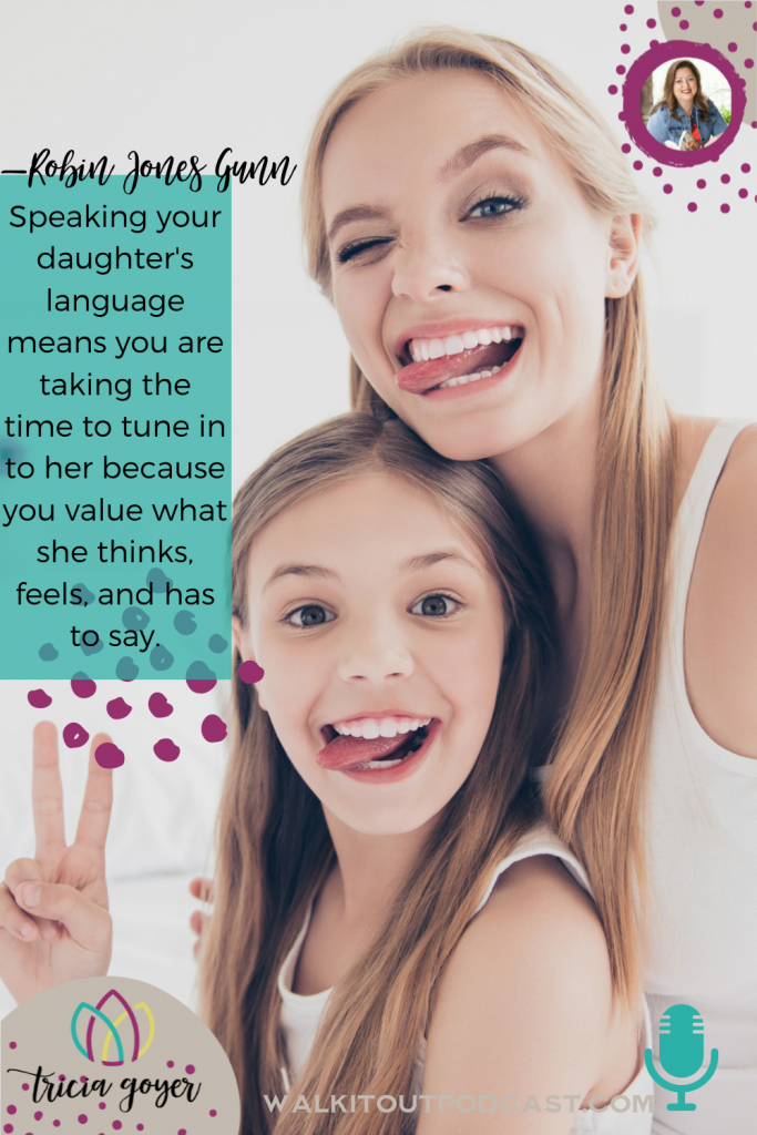 WIO 142 Preparing Your Daughter for Womanhood with Robin Jones Gunn We're chatting about parenting daughters! You're going to love this episode!