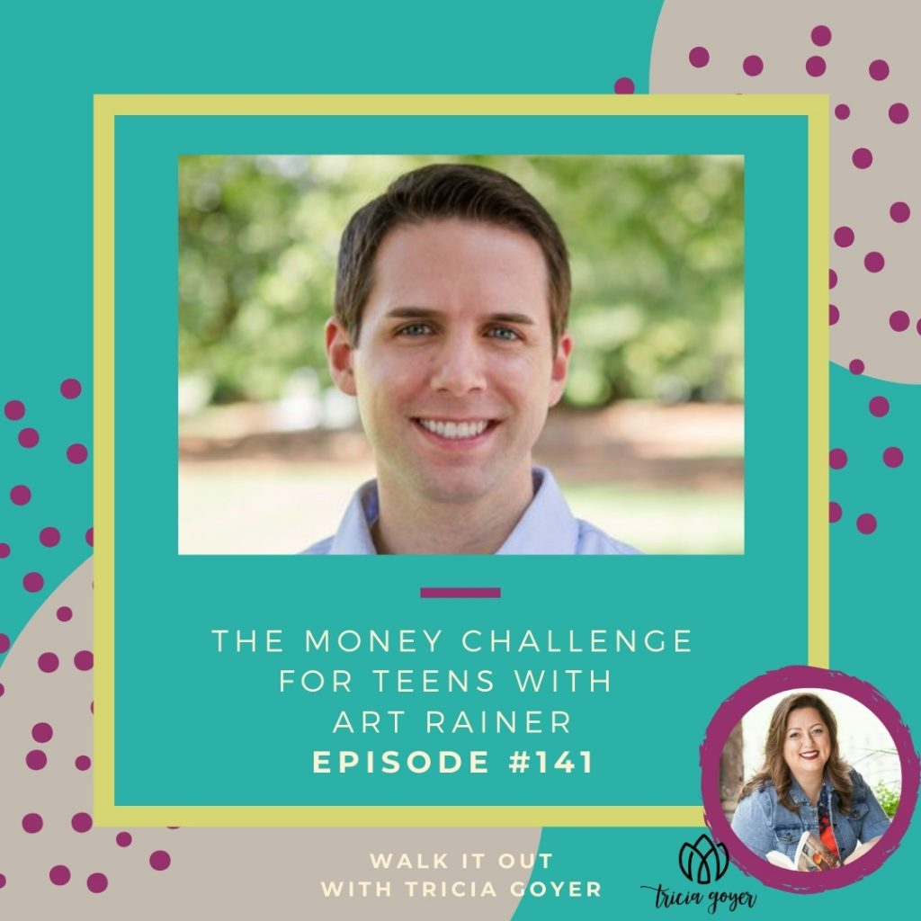 WIO 141 The Money Challenge for Teens with Art Rainer. I'm excited to bring you this episode with Art. If you have kids, you're going to want to listen! Enjoy!