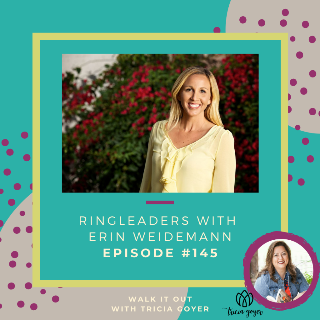 WIO #145 Ringleaders with Erin Weidemann. I loved chatting about Erin's series of amazing books for girls. I know you'll love this episode!