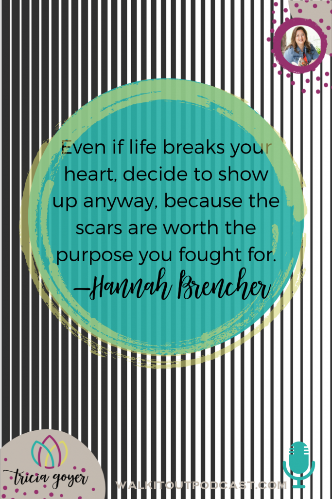 WIO #148: Today on the podcast I'm chatting with Hannah Brencher about her new book Fighting Forward. I know you're going to enjoy this episode!