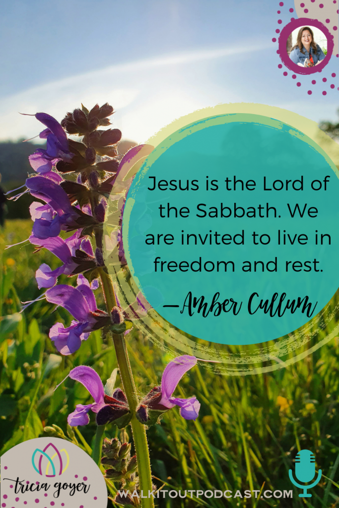 WIO #153 Grace Enough with Amber Cullum. Want to know what a Sabbath rest can look like for your family? You're not going to want to miss this episode!