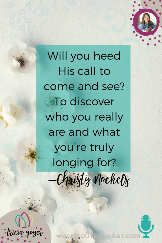 WIO #159: The Life You Long For with Christy Nockels. If you're ready to discover how to really hear God in new ways, you aren't going to want to miss this episode with Christy Nockels!