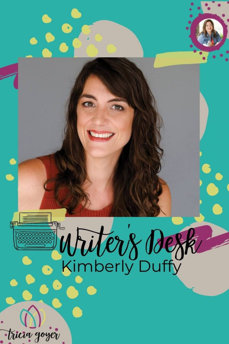 So excited to feature Kimberly Duffy + A Tapestry of Light on Writer's Desk!